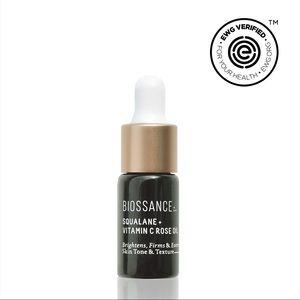 Biossance Squalane + Vitamin C Rose Oil Sample